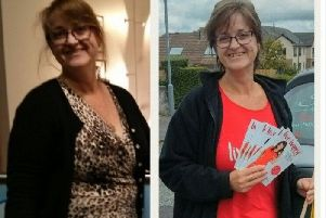 Lesley is using her success to help others.