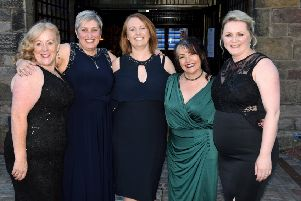 Janice (second from right) will embark on the challenge next September.