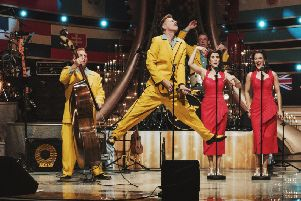 Jive Aces play  Eastwood Park Theatre on February 1.
