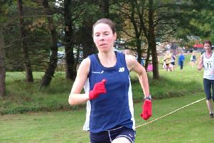 Toni in running action