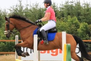 Kimberley McCombie and Holly have been nominated in the ex-racer category at the Scottish Equestrian Awards in February