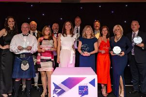 Winners at last year's East Renfrewshire Business Awards. Who will take the honours in 2019? (Photo: Dave Muir)