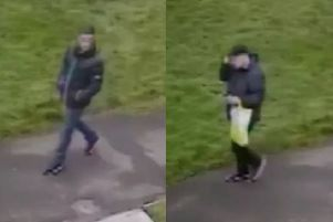 Police are looking to trace these two men who feature in video footage.