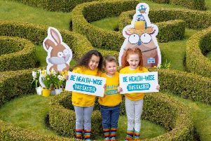 NHS Scotland has launched its Easter Be Health-Wise campaign. (Photo: Peter Devlin)