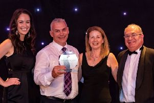 Staff from Creature Comforts who took home the Best Large Business award last year.