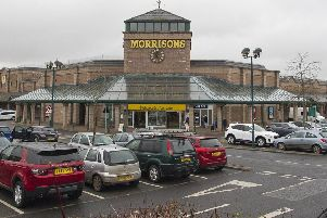 Morrisons in Hawick.
