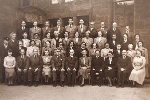 Do you recognise anybody in this picture? If so please contact Pollokshaws Heritage Group on 07831258411.