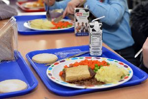 Schools are now offering much more than the 'typical' school meal.