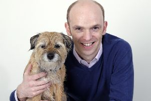 Ross Allan, Partner at Pets n Vets, Glasgow. (Photo: 'Iain McLean).