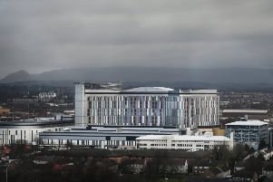 The Queen Elizabeth University Hospital. (Photo: John Devlin)