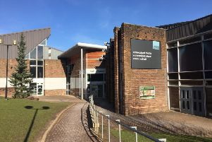 The current Eastwood Park Leisure Centre and Theatre will be replaced by newly-built facilities.