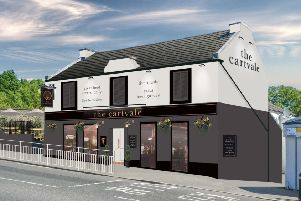 An artist's impression of The Cartvale following its refurbishment.