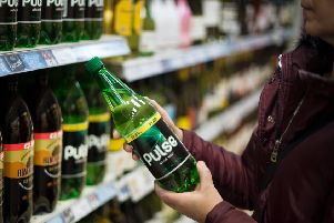 Food Warehouse by Iceland on Auldhouse Retail Park in Pollokshaws is allowed to sell alcohol.