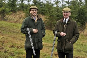 Bisley Shooting Group bosses Alex and Anthony Roupell at the Midlem complex.