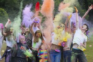 The Festival of Colour returns to Rouken Glen Park.