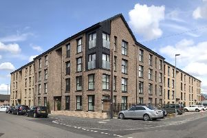 Many of the new 45 new homes at Batson Street, Govanhill, are already occupied.