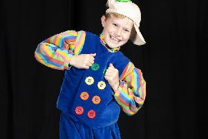 Sam Felderhof will play  Buttons in Eastwood Park Theatre's panto, Cinderella (Photo: '''Mark F Gibson)