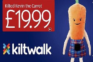 Will you be trying to get your hands on one of these limited edition Kevin the Carrots? (Photo: Aldi)