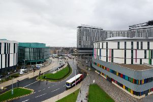 The Queen Elizabeth hospital in Glasgow
