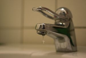 A number of homes have been left without water.