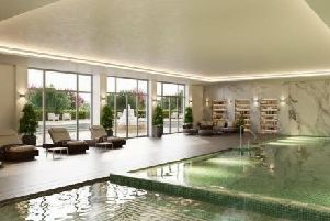 The development would include a health club.
