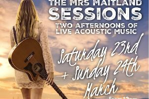 The afternoons will feature eight acoustic acts performing at Mrs Maitland's