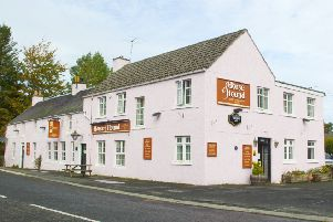 The Horse and Hound pub at Bonchester Bridge.