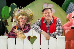 Live Borders presents Pongo's Party on Wednesday,  April 10 at Hawick Town Hall.'With a colourful farmyard and host of loveable puppet characters, this is a family show particularly suitable for 2 - 7 year olds.