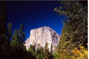 In the footsteps...Ken Paterson followed John Muir to Yosemite where he captured the El Capitan rock formation.
