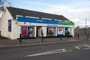 The current Scotmid store in Bo'ness will be demolished. Pic: Joey Kelly.