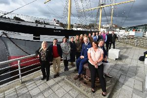 The West Coast Marine Tourism Collaboration meet at Riverside Museum in Glasgow to announce their VisitScotland Growth Fund Award.