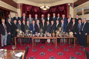 St Andrews Thistle Golf Club Dinner and Presentation of prizes held in the St Andrews Golf Club. Pic by Michael Joy.