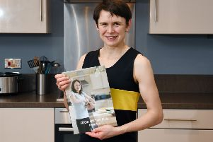 Picture Michael Gillen.  Ex-Olympic runner Freya Ross has published a cookbook.