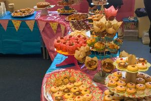 Some of the tasty treats on sale at the Spring Fair