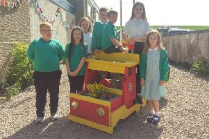 Barthol Chapel's Eco Group opened their new community garden at the celebration