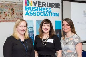 Ailsa Anderson, Victoria Withy IBA Chairperson and Debbie Anderson