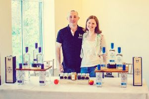 Neil and Katie Sime of Blackford Craft Distillery Ltd