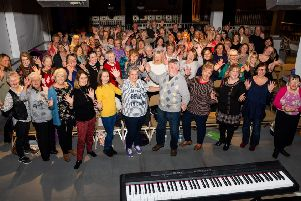 The Music Hall Community Choir have been rehearsing weekly in the lead up to the celebrations for the re-opening of the popular city centre venue.