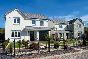 The two Garioch View show homes - the Geddes and Monro - will also be open to inspire house-hunters