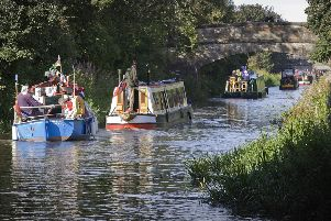 A floating festival to celebrate the re-opening of the Forth and Clyde Canal to coast-to-coast boat traffic will take to the water this May. Pic: Peter Sandground
