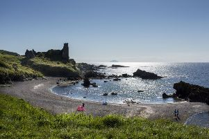 Dunure Castle, Dunure, South Ayrshire. 'Picture by Paul Tomkins.