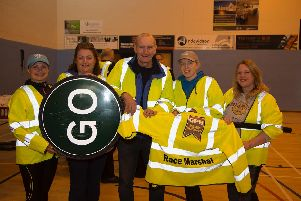 Marshalling crew at a previous Run Garioch event