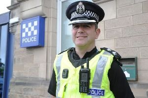 Inspector Bryan McGeoch settles into his role at East Ren.