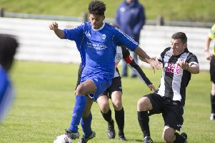 Josh Neill was top scorer last season during a difficult campaign for Hawick Royal Albert (archive pic).