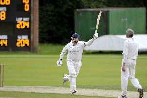 Uddingston skipper and wicket keeper Bryan Clarke