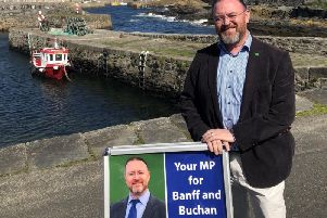 Banff and Buchan MP David Duguid visited 65 locations on his summer surgery tour.