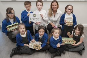 The aim of the competition is to engage pupils in the potato-growing process
