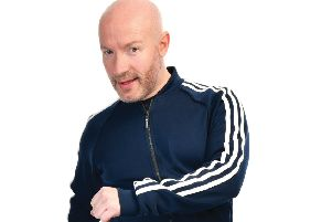 Craig Hill is bringing his unique brand of humour to the Lemon Tree in Aberdeen.  (Pic: Steve Ullathorne)