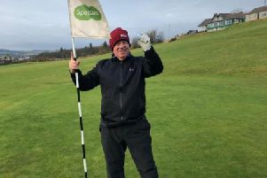 Willie Pittendreigh ace at Stonehaven Golf Club