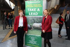 Gillian Martin (right) with Emma Harper, who launched the public consultation exercise.